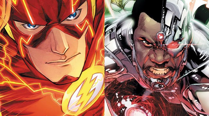 'The Flash' y 'Cyborg'