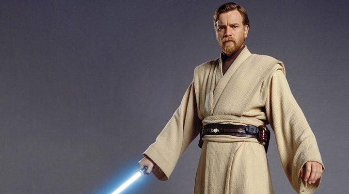 El actor Ewan McGregor como Obi-Wan Kenobi