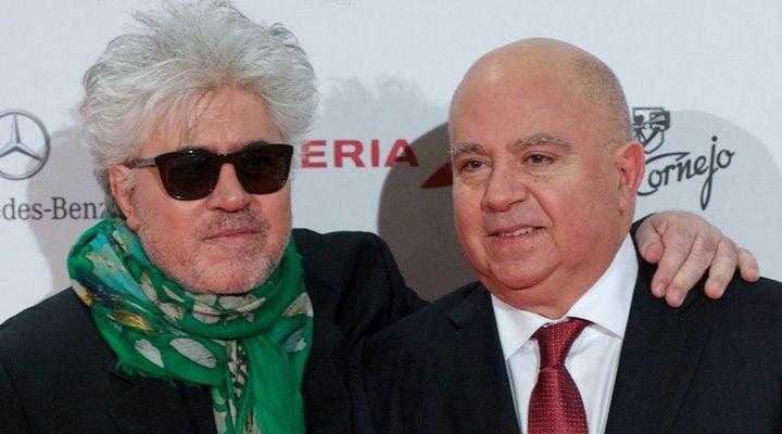 Pedro y Agustín Almodóvar