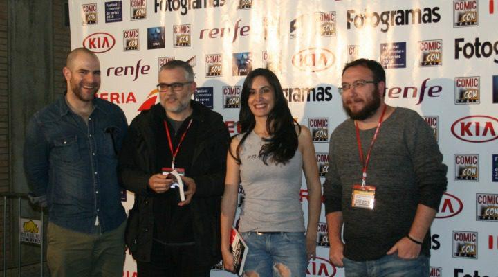 'Alberto Rey, David Muñoz, Isabel Vázquez y Juan de Dios Garduño'