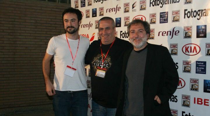 'Pablo Lara, Javier Suárez y Javier Olivares''