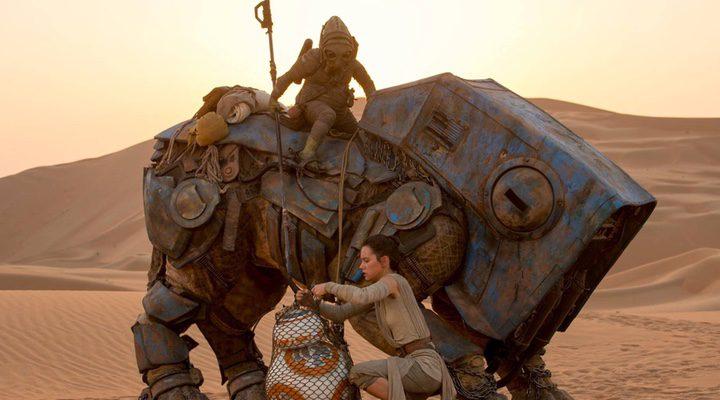 Daisy Ridley en uno de los momentos de la última entrega de la saga 'Star Wars'