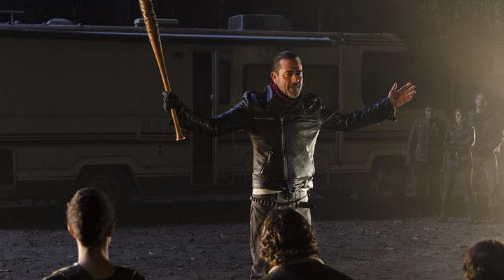 Negan y su temible arma