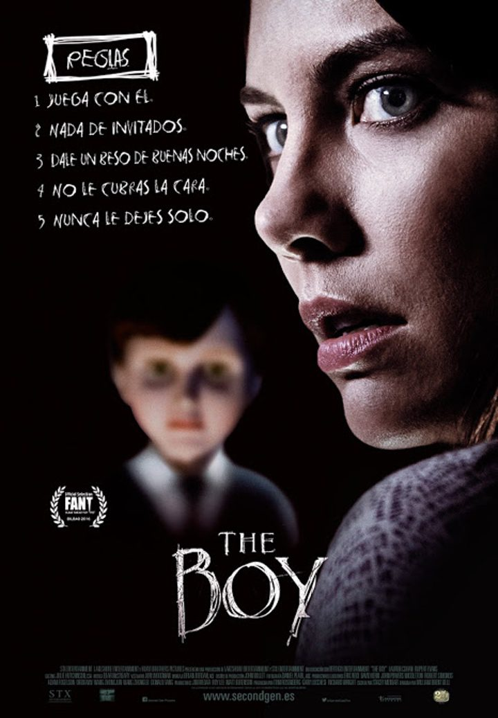 Cartel de 'The Boy'