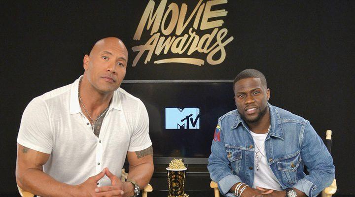Dwayne Johnson y Kevin Hart, presentadores de los MTV Movie Awards