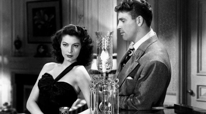 Burt Lancaster y Ava Gardner en 'Forajidos'