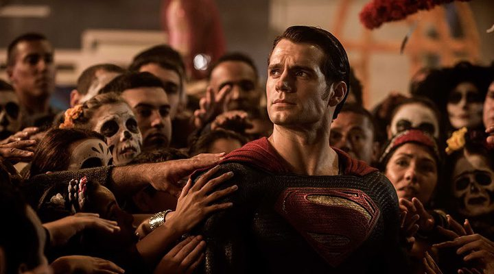Henry Cavill en escena de 'Batman V Superman'