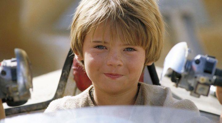 Jake Lloyd como Anakin Skywalker en 'Star Wars: La amenaza fantasma'