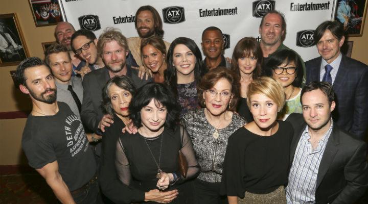 El multitudinario reparto de Gilmore Girls