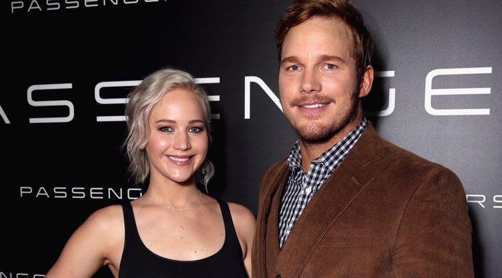Jennifer Lawrence y Chris Pratt, protagonistas de 'Passengers'