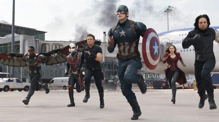 El equipo de Capitán América en 'Capitán América: Civil War'
