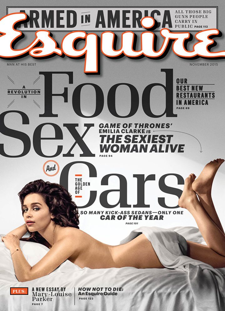 Portada Emilia Clarke Esquire