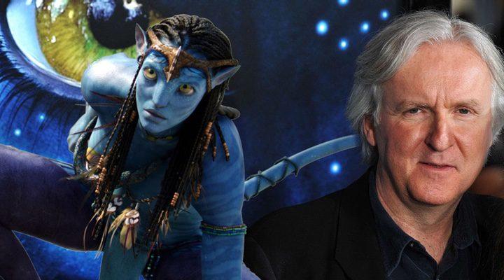 James Cameron y Neytiri en 'Avatar'