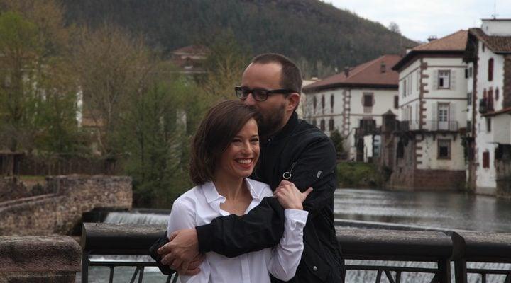 Fernando González Molina y Marta Etura