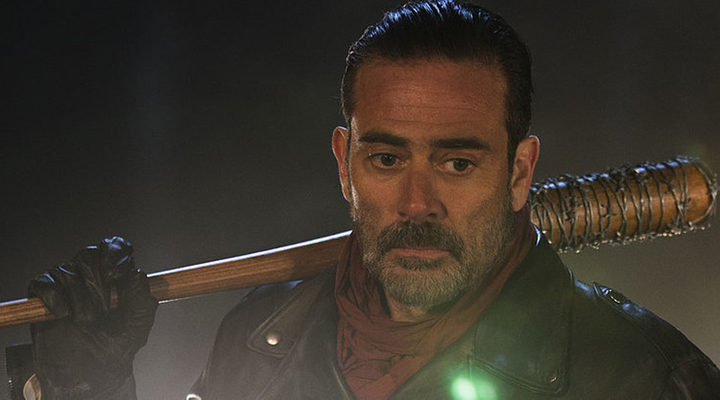 Jeffrey Dean Morgan cono Negan
