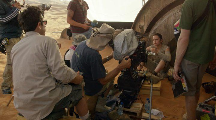 detrás de las cámaras 'Star Wars: El despertar de la fuerza