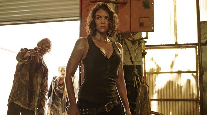 Lauren Cohan interpretando a Maggie en 'The Walking Dead'