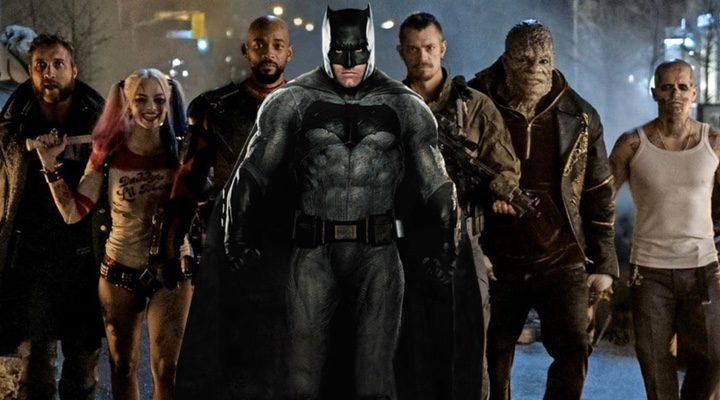 El 'Escuadrón Suicida' junto a Batman de 'Batman v Superman: El amanecer de la justicia'