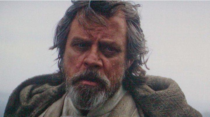 Mark Hamill como Luke Skywalker en 'Star Wars: El despertar de la fuerza'