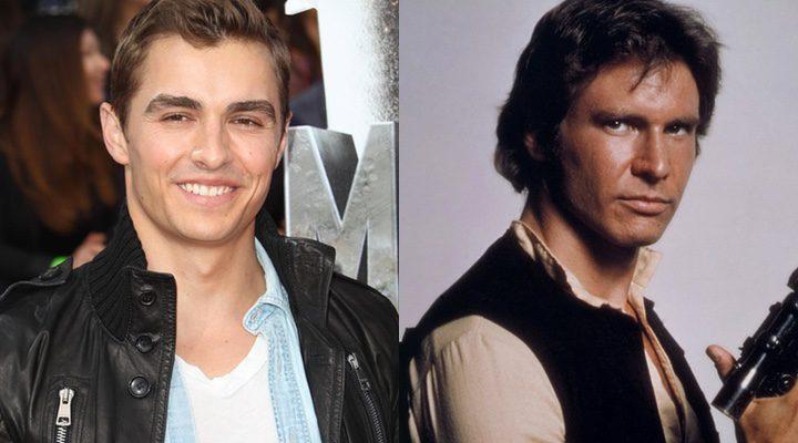 Dave Franco y Han Solo de 'Star Wars'