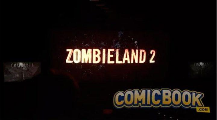 El logo de 'Zombieland 2' en la CinemaCon