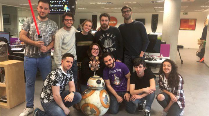 BB-8 de 'Star Wars: El despertar de la Fuerza' visita eCartelera