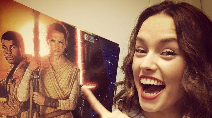 Selfie de Daisy Ridley