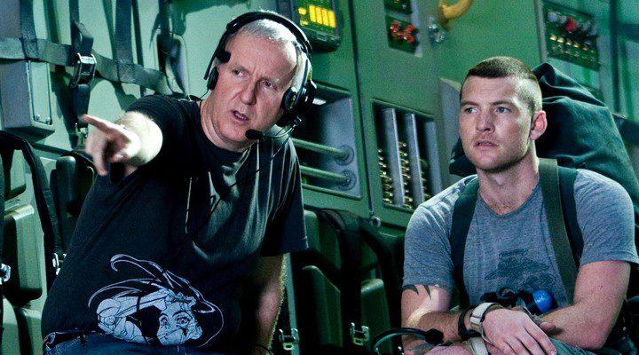 James Cameron en el rodaje de 'Avatar'