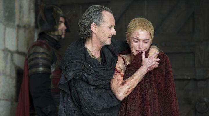 Cersei después del paseo de la vergüenza