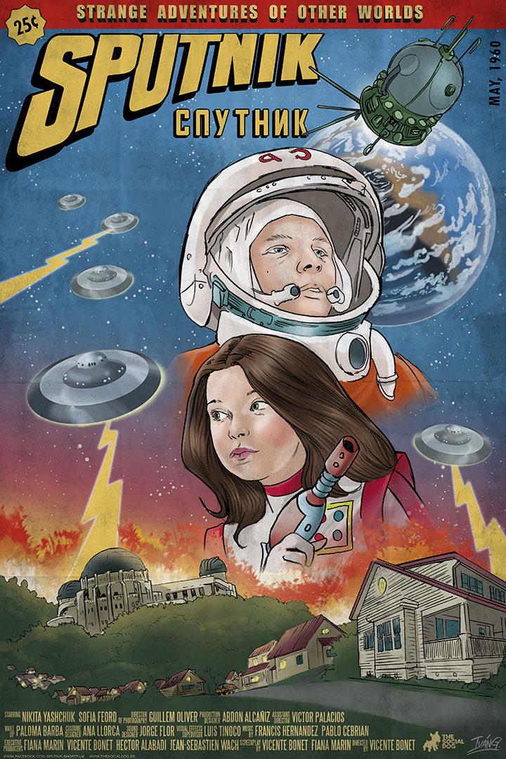 Póster de 'Sputnik', dirigido por Vicente Bonet