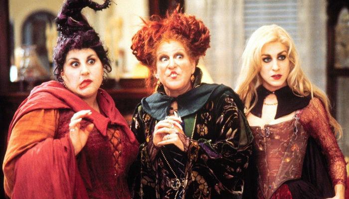 Las tres protagonistas de 'El retorno de las brujas'
