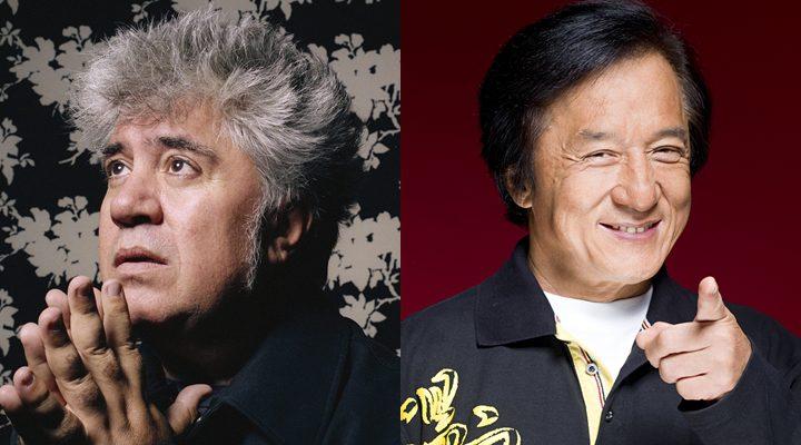 Pedro Almodovar y Jackie Chan