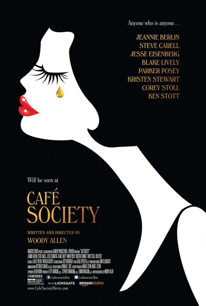 Póster de 'Café Society'