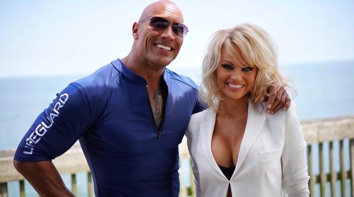 Pamela Anderson en 'Los vigilantes de la playa'