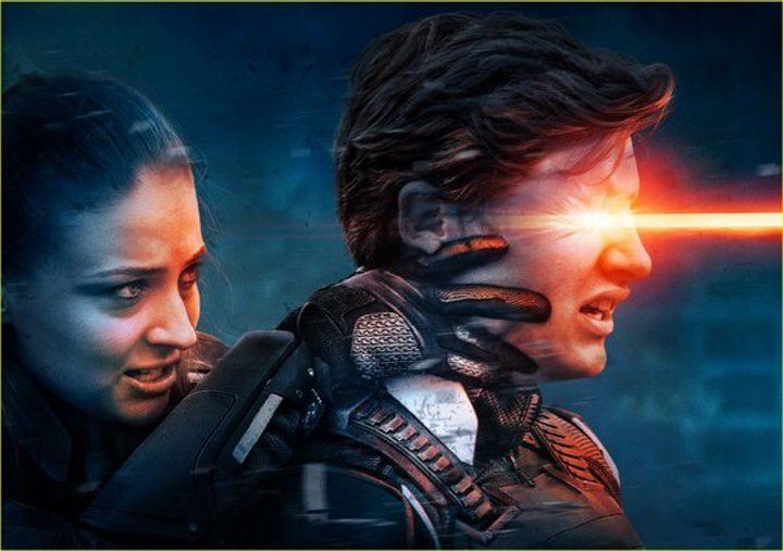 Jean Grey y Cíclope de 'X-Men: Apocalipsis'