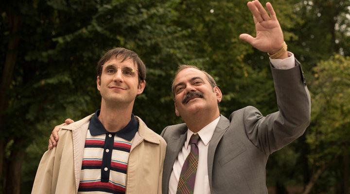 Corbacho y Rovira en un fotograma de la película