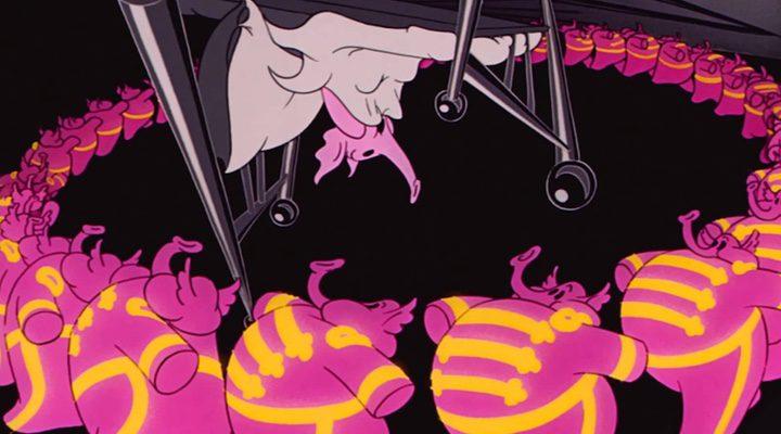 La alucinación ocasionada por las pompas de jabón en 'Dumbo' supone una de las escenas más míticas del clásico
