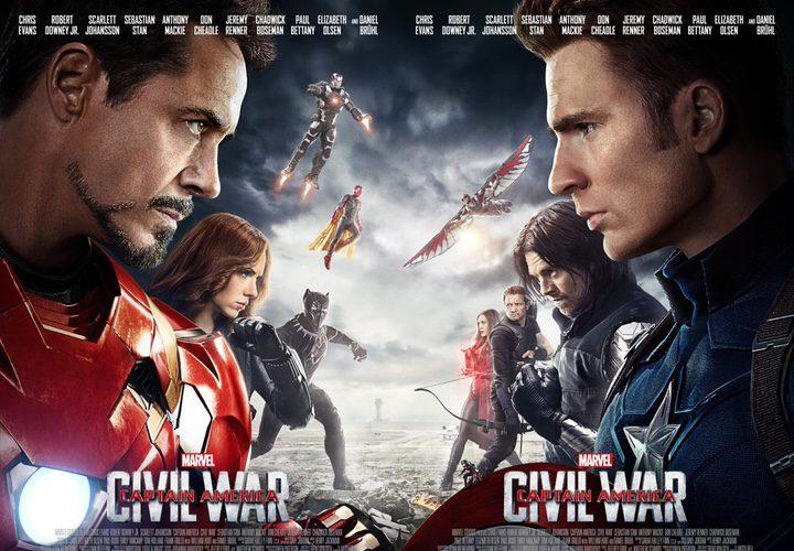 pósters Capitán América: Civil War