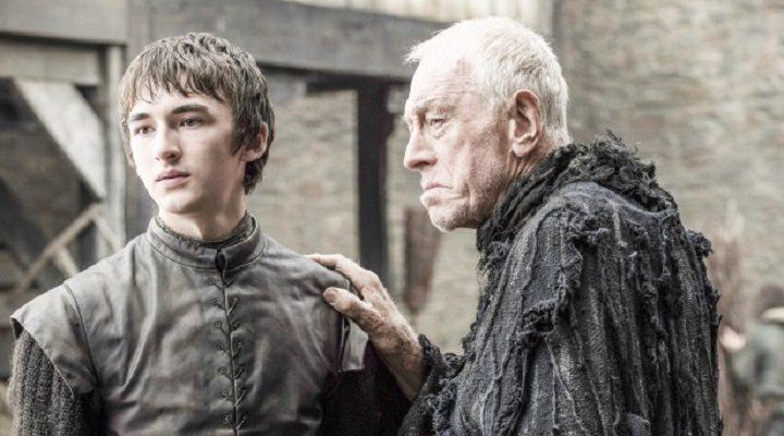 Bran Stark y Cuervo de Tres Ojos
