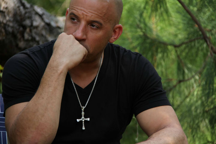 Vin Diesel como Dom Toretto