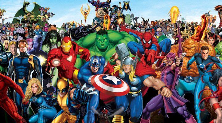 Personajes Universo Cinematográfico Marvel