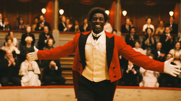 Omar Sy, actor protagonista en 'Monsieur Chocolat'