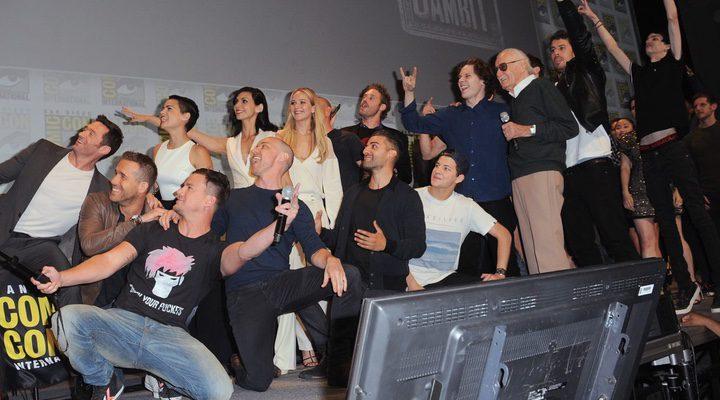 Protagonistas de películas Marvel-20th Century Fox en la Comic-Con
