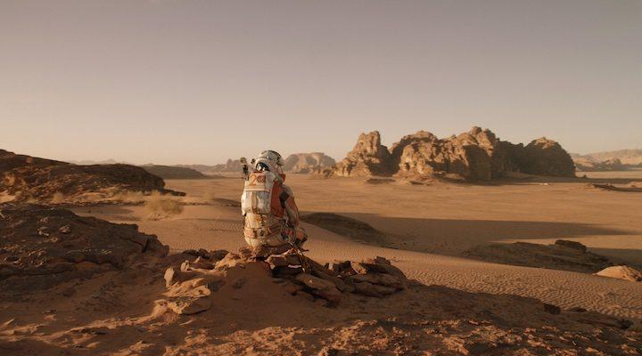 Matt Damon en una escena de 'Marte'