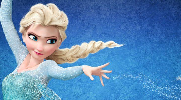 la princesa Elsa en 'Frozen'