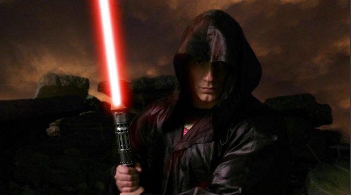 Henry Cavill caracterizado como Jedi en una imagen subida por Zack Snyder durante el proceso de producción de 'Batman v Superman: El amanecer de la Justicia'