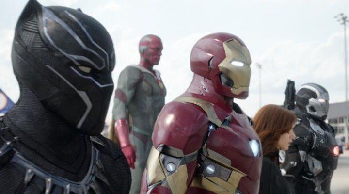 Black Panther en el bando de Iron Man