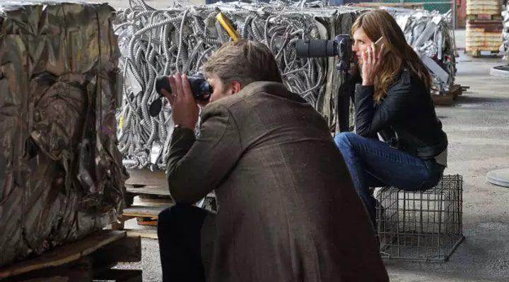 Castle y Beckett en el último episodio de la octava temporada de 'Castle'