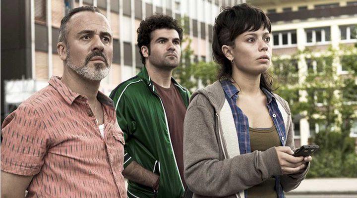 Anna Castillo, Javier Gutiérrez y Pep Ambròs en 'El olivo'