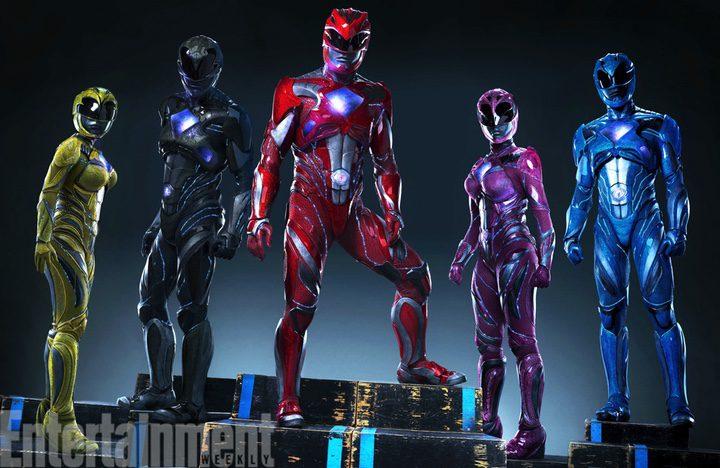Los nuevos trajes de los 'Power Rangers'